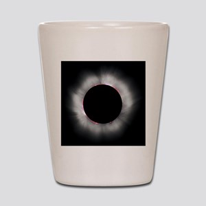 Total Solar Eclipse 1999 Shot Glass