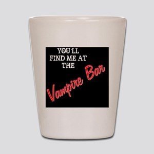 vampirebar_menswalletblackback Shot Glass