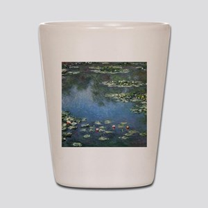 Water Lilies by Claude Monet Shot Glass
