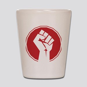 Vintage Retro Fist Design Shot Glass