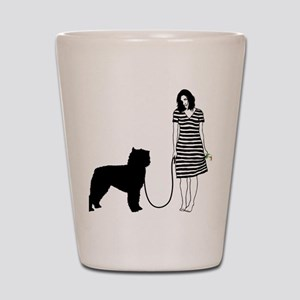 Bouvier-des-Flandres11 Shot Glass