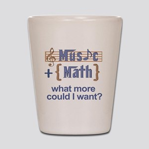 music-math3 Shot Glass