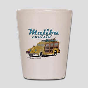 Malibu Cruisin Mug Shot Glass