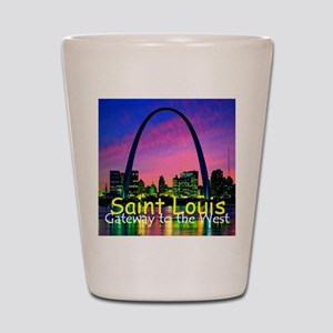 St Louis Shot Glass
