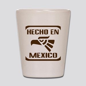 Hecho En Mexico Shot Glass