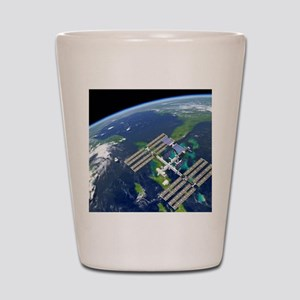 International Space Station Shot Glass