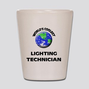 World's Coolest Lighting Technician Shot Glass