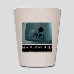 hand-washing-humor-infection-lg3 Shot Glass