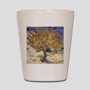 Mulberry Tree by Vincent Van Gogh Shot Glass