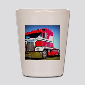 1985 Kenworth Cabover K100 Shot Glass