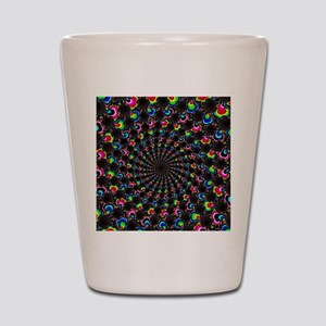 Psychedelic Wormhole Shot Glass