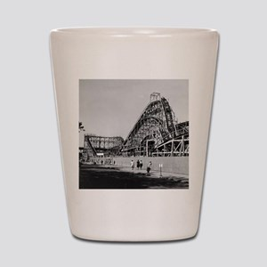 Coney Island Cyclone Roller Coaster 182 Shot Glass