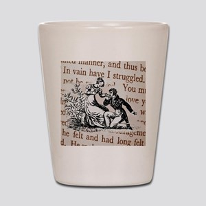 Mr Darcys Proposal, Jane Austen Shot Glass