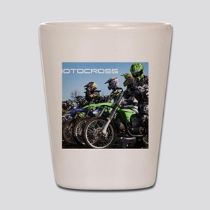 MotoCross Calendar Cover Shot Glass