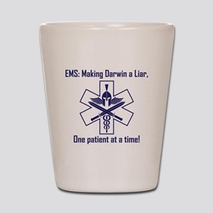 EMS: Making Darwin A Liar, One Patient  Shot Glass