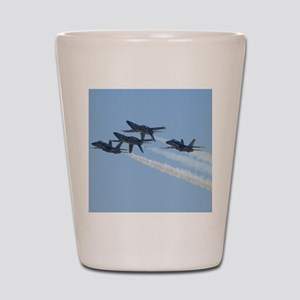 Blue Angels over Texas Shot Glass