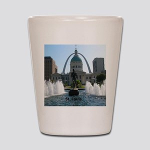 StLouis_10x8_Rect_DowntownStLouis_OldCo Shot Glass