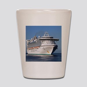 Golden Princess cruise ship Shot Glass