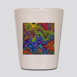 Psychedelic Shot Glass
