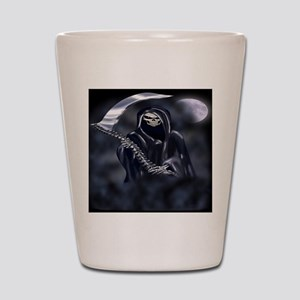 Grim Reaper (fl) Shot Glass