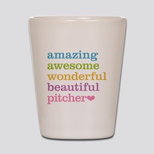 Awesome Pitcher Shot Glass