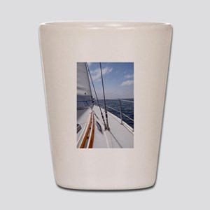 Sail Day Shot Glass