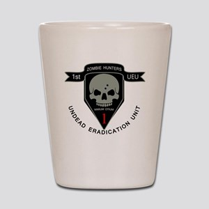 1st Zombie Hunters Shot Glass