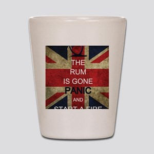 Rum Panic Shot Glass