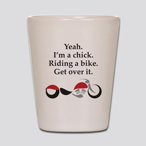 Get Over It Shot Glass