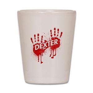22f220e74c0 Dexter TV Show Shot Glasses - CafePress