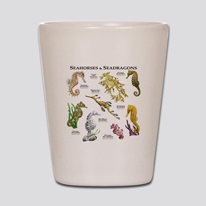 Seahorses & Seadragons Shot Glass