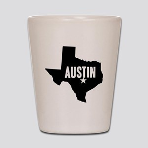 Austin, TX Shot Glass