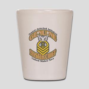 Navy Master Chief Shot Glasses - CafePress