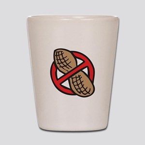 No Peanuts! Shot Glass