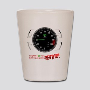speedometer-30 Shot Glass
