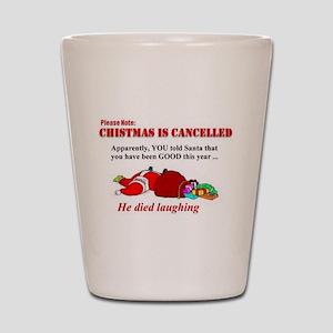 Merry Christmas Puns.Christmas Puns Shot Glasses Cafepress