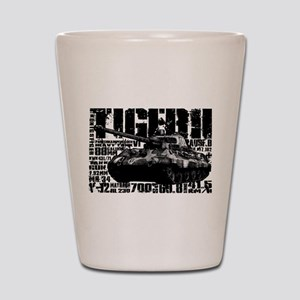 Tiger II Shot Glass
