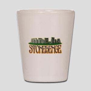 Stonehenge Shot Glass