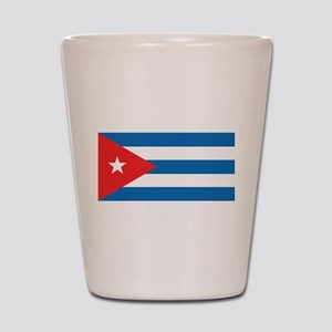 Cuban Flag Shot Glass