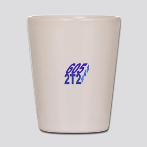 605/2t2 cube Shot Glass