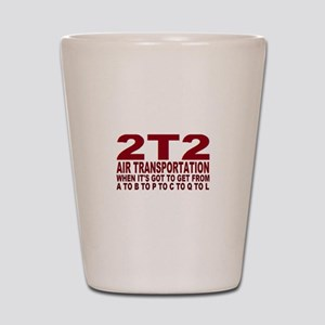 2t2 air trans Shot Glass