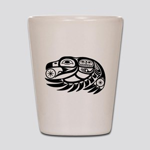 Raven Native American Design Shot Glass