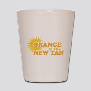 Orange is the New Tan Shot Glass
