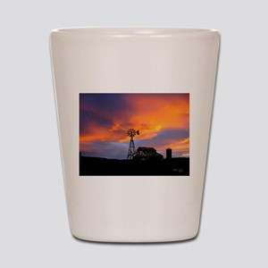 Sunset on the Farm Shot Glass