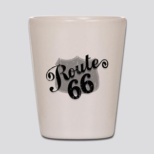 Route 66 Weatherboard Shot Glass