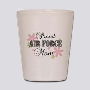 Air Force Mom [fl camo] Shot Glass