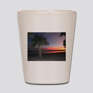 A Florida Sunset Shot Glass