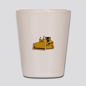 Bulldozer Shot Glass