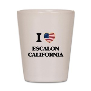 I love Escalon California USA Design Shot Glass