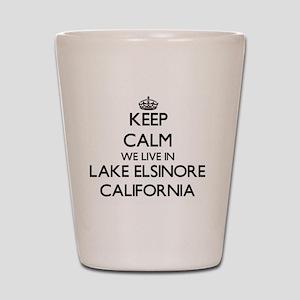 Lake Elsinore Shot Glasses - CafePress